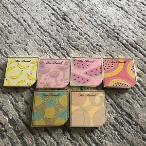 Bundle of 6 too faced blush's